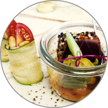 Speisenkatalog anfordern | Messerich Catering