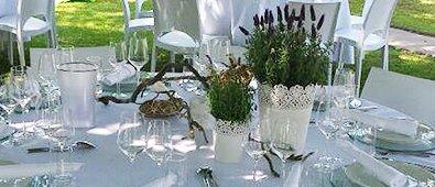 Dekoration & Ausstattung bei Messerich Catering
