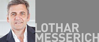 Geschäftsführer Lothar Messerich
