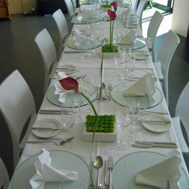 ...feiern Sie mit uns in Ihrem Hause | Messerich Catering