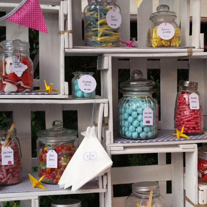 Unsere Candybar - für Klein und Groß  | Messerich Catering