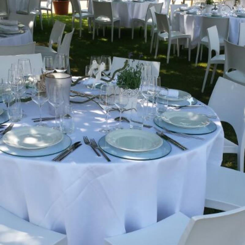 ...ganz in weiß ist wunderbar - unser Privatcatering ist sehr kreativ!  | Messerich Catering