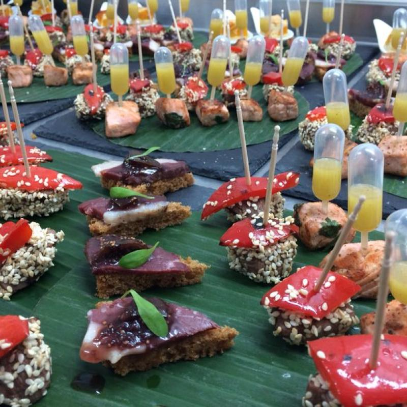 ...auch das ist Fingerfood  | Messerich Catering