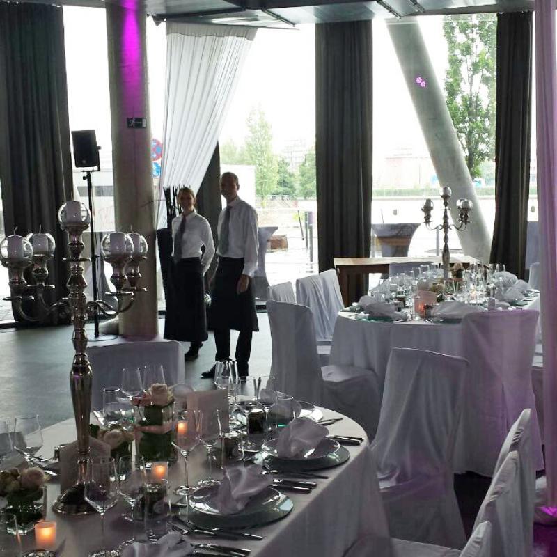 Vorfreude auf die Hochzeitsgäste | Messerich Catering