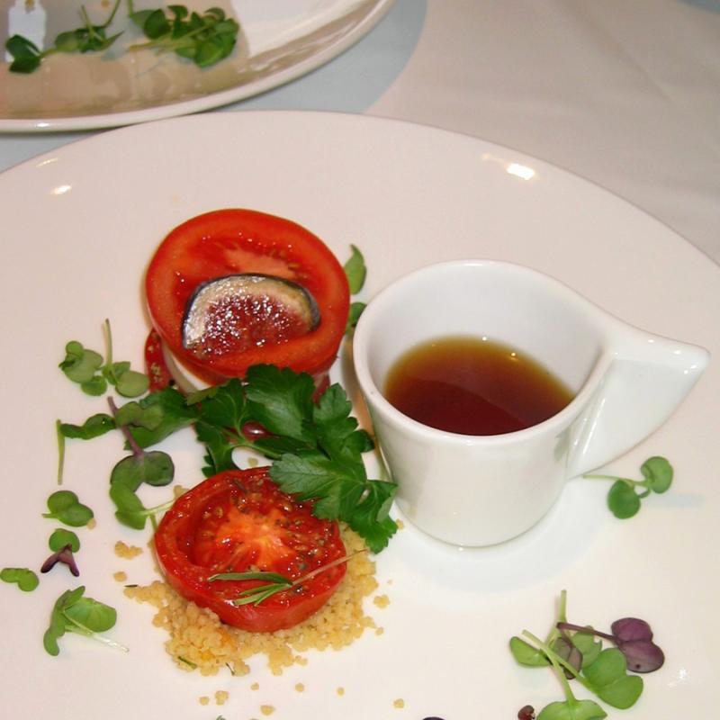 Dreierlei von der Tomate | Messerich Catering