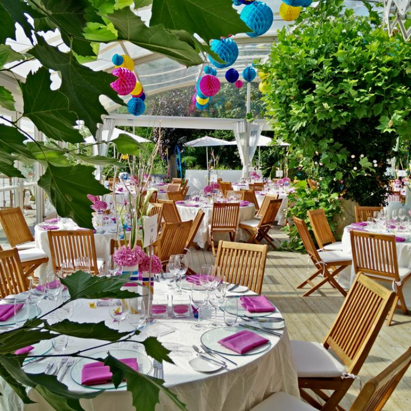 Buntes Eventcatering  auf der Insel Nonnenau  | Messerich Catering