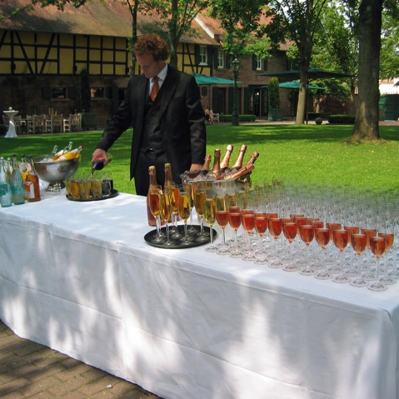 Hochzeitsempfang im Hofgut Hünersdorff Wörth a.M. | Messerich Catering
