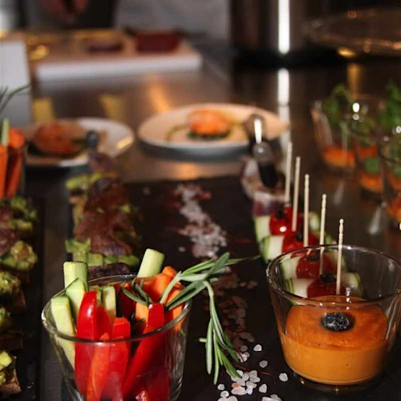 Catering in Ihrem Zuhause | Messerich Catering