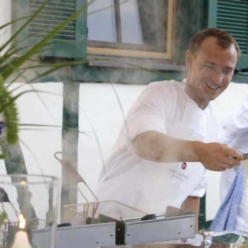 Pastastation im Hofgut Mappen | Messerich Catering