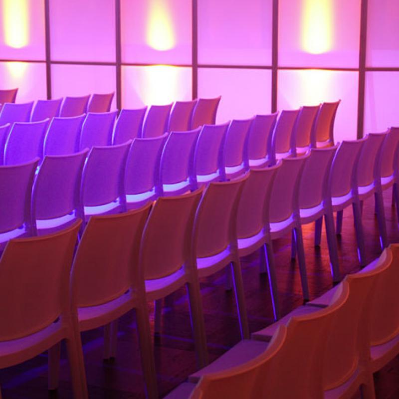 Stuhl für Stuhl, Reihe für Reihe  | Messerich Catering