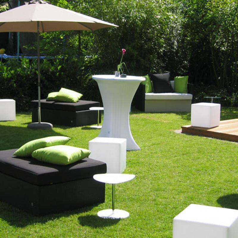 chillen und relaxen im eigenen Garten - unser Privatcatering  | Messerich Catering