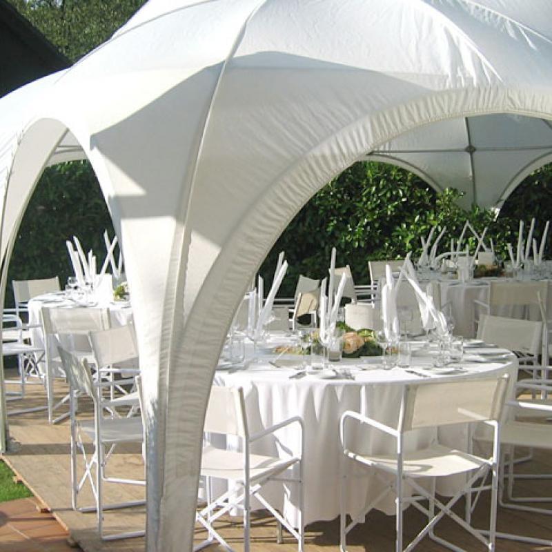 leichte Sommereindeckung in Ihrem Garten  | Messerich Catering