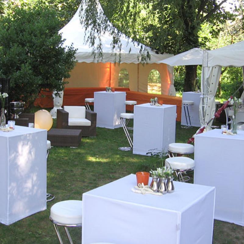 Sommerfest auf der Insel Nonnenau  | Messerich Catering