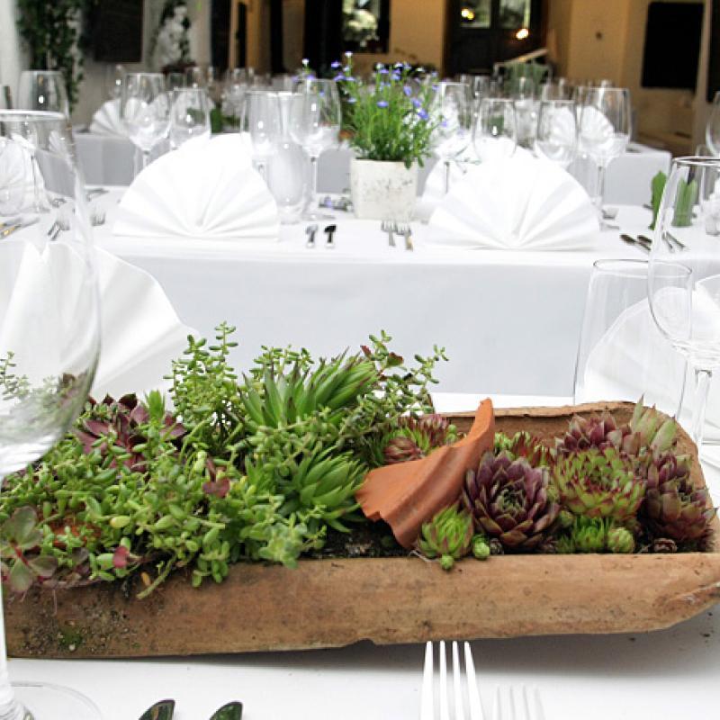 ...elegant, geerdet und natürlich  | Messerich Catering