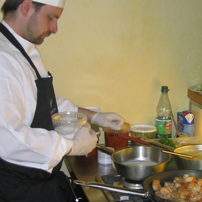 ...und unsere Köche lieben den besonderen Geschmack!  | Messerich Catering