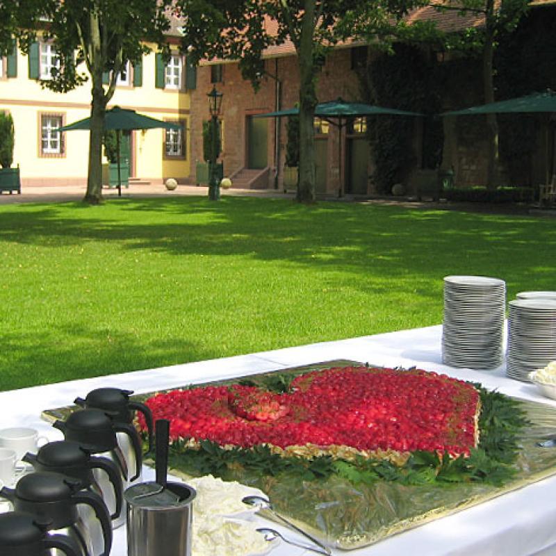 Hochzeit feiern im Hofgut von Hünersdorff, Wörth a.Main  | Messerich Catering