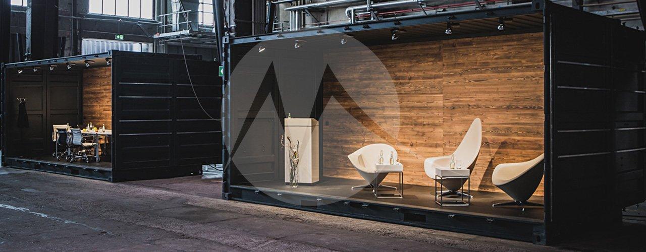 High-Cube Container – Bühne