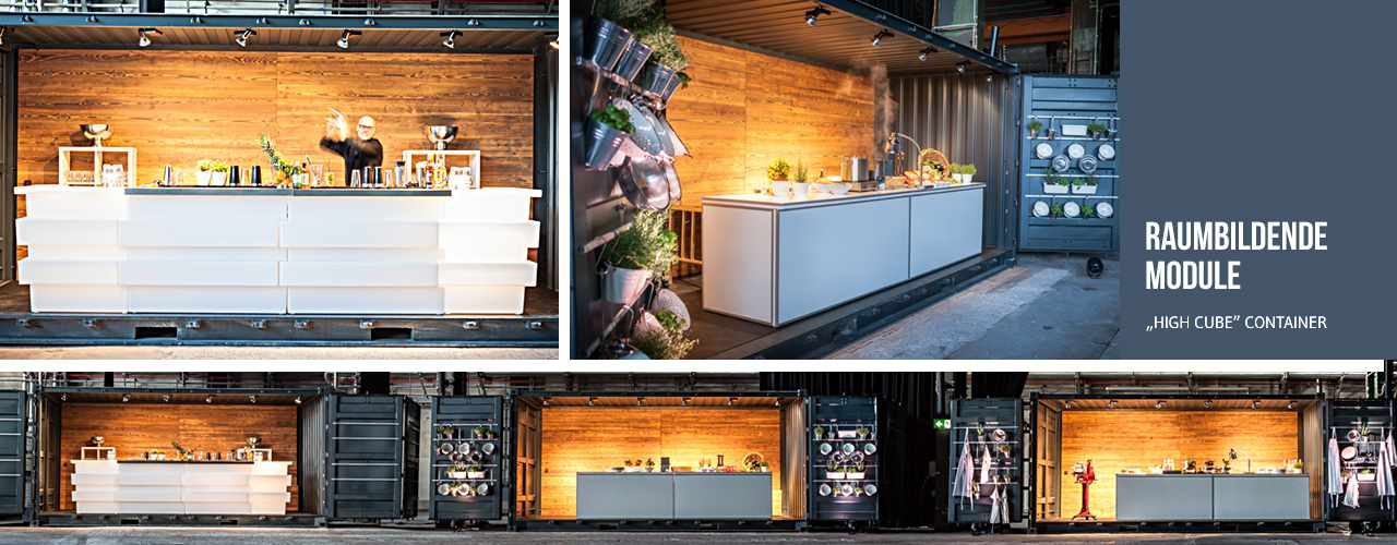 Raumbildende Module / Food Container