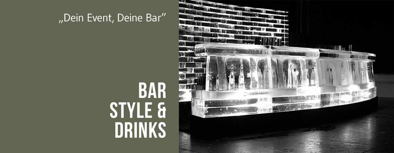 Bar, Style und Drinks