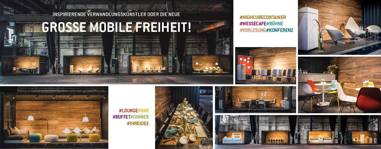 High-Cube Container | Messerich Catering
