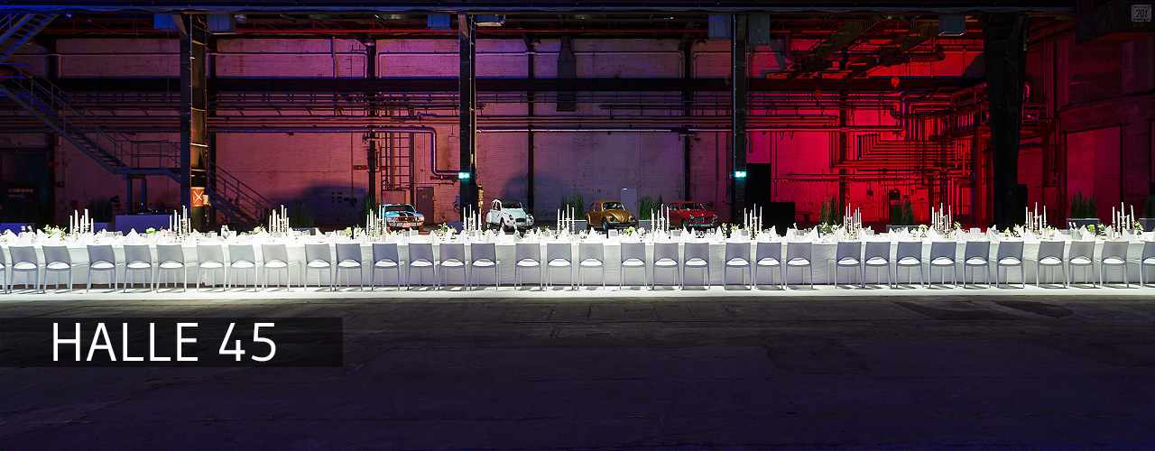 Messerich Catering, Halle 45