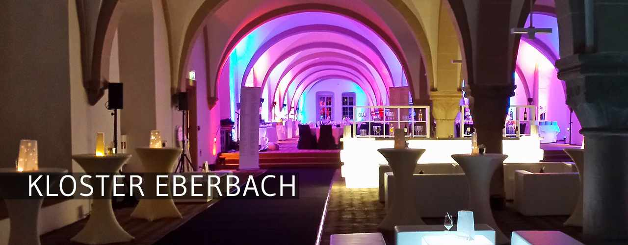Messerich Catering, Kloster Eberbach