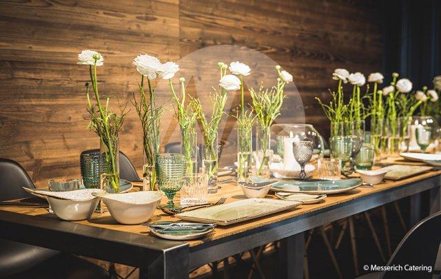 Container – Dinner, Tafel, Dekoration