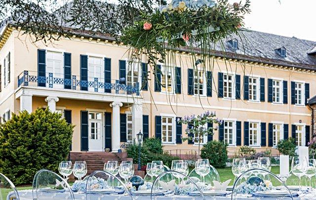 Schloss Johannisberg – Feiern unter freiem Himmel