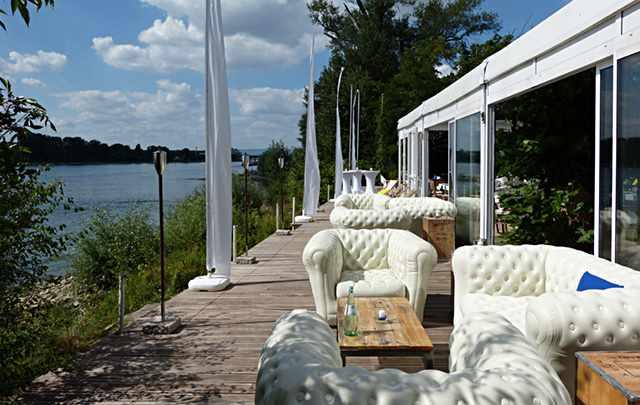 Catering Rheinterrasse Ambiente, Lounge