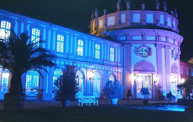 Messerich Catering, Schloß Biebrich bei Nacht