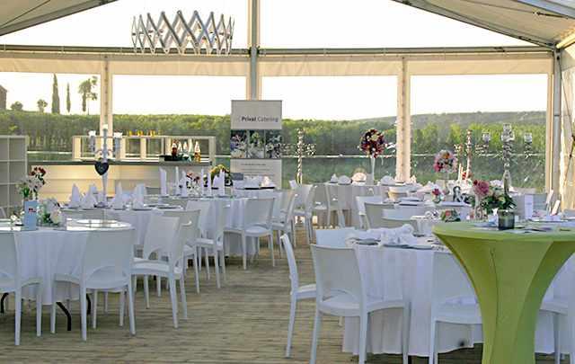Messerich Catering, Weingut Gehring, Eventzelt